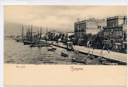 SMYRNE (TURQUIA).- LES QUAIS - Turchia