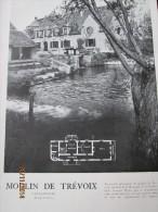 Maison  Architecture OLLAINVILLE   LE MOULIN DE TREVOIX  + LA BATE  ROCHEFORT  EN YVELINES - Non Classés