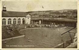 CLWYD - PRESTATYN - BATHING POOL #2 Clw146 - Flintshire