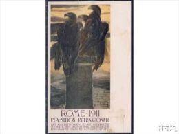 I036  - CAMBELLOTTI  -ROMA 1911 - Exposiciones