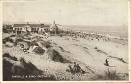 CLWYD - PRESTATYN - SANDHILLS AND BEACH 1937 Clw147 - Flintshire