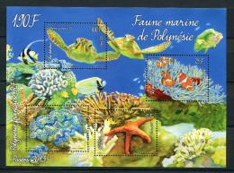 Polynésie ** - Bloc  Faune  Marine - Polynésie Française