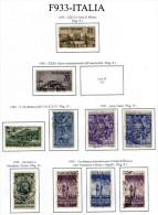 Italia-MF-F00933 - 1950 - Sassone: N.616/624 (o) - - 6. 1946-.. Repubblica