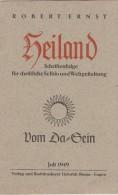 LG Heiland Schriftenfolge Für Christliche Selbst- Und Weltgestaltung - 1949 - Robert Ernst - Christendom