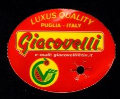 # GIACOVELLI TABLE GRAPE Italy Fruit Tag Balise Etiqueta Anhänger Cartellino Uva Raisin Uvas Traube - Fruits & Vegetables