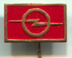 OPEL - Car, Automobile, Old Pin, Badge - Opel
