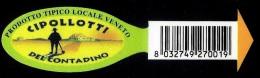 # CIPOLLOTTI TRESOLDI Italy Onion Tag Balise Etiqueta Anhänger Cartellino Vegetables Gemüse Legumes Oignon Verduras - Fruits & Vegetables