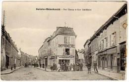 Sainte Menehould - Rue Chanzy Et Rue Zoé-Michel - Sainte-Menehould