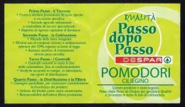 # POMODORO DESPAR Italy Tomato Tag Balise Etiqueta Anhänger Cartellino Vegetables Gemüse Legumes Tomate Verduras - Fruits & Vegetables