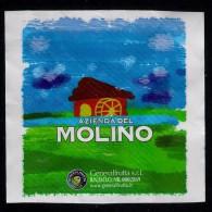 # AZIENDA DEL MOLINO Italy Orange Tag Balise Etiqueta Anhänger Cartellino Fruits Frutas Naranja - Fruits & Vegetables