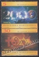 Macedonia 2000 Yvert 186-87, New Millenium - MNH - Macedonia