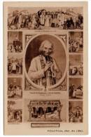 CP, CELEBRITES, PERSONNAGES HISTORIQUES, Potrait Du Bienheureux J.B.M. VIANNEY, Curé D'Ars, Vierge - Personnages Historiques