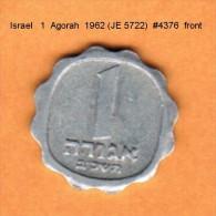 ISRAEL   1  AGORAH  1962 (JE 5722)  (KM # 24.1) - Israel