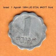 ISRAEL   1  AGORAH  1964 (JE 5724)  (KM # 24.1) - Israel
