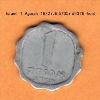 ISRAEL   1  AGORAH  1972 (JE 5732)  (KM # 24.1) - Israel