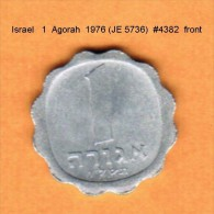 ISRAEL   1  AGORAH  1976 (JE 5736)  (KM # 24.1) - Israel