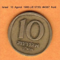 ISRAEL   10  AGOROT  1960 (JE 5720)  (KM # 26) - Israel