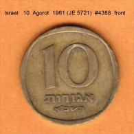 ISRAEL   10  AGOROT  1961 (JE 5721)  (KM # 26) - Israel