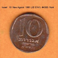 ISRAEL   10  NEW AGOROT  1981 (JE 5741)  (KM # 108) - Israel