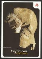 Portugal Archéologie Sites Préhistoriques Et Romaines 2011 Brochure + Timbres Archaeology Prehistoric And Roman Sites - Archéologie