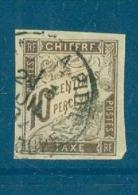 Colonie Générale Taxe N°19 Oblitéré  Cad . Pointe à Pitre  Juin 1904 -  Lr18802 - Guadeloupe (1884-1947)