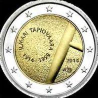 2 Euro Commemorativo Finlandia 2014 100° Tapiovara Finlande Finland Suomi Finnland (II°2014) - Finland
