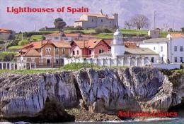 Lighthouses Of Spain - Asturias, Llanes Postcard (15) - Size: 15x10 Cm. Aprox. - Lighthouses