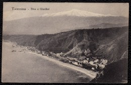 TAORMINA Etna E Giardini - Viaggiata Nel 1913 - Messina