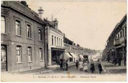 Bruay - Rue Nationale - National Road ( édition Fruchois ?) - France