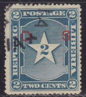 Liberia 1901 Definitive Of 2c With Overprint O.S., Used (o) - Liberia