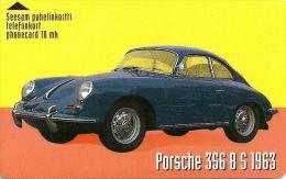 FINLAND 0 MK VINTAGE CAR PORSHE 356 8 S 1963 TRANSPORT 3000 ONLY!! SAVONLINNA REGION ONLY USED READ DESCRIPTION !!