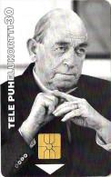 FINLAND  30 U  MAN ALVAR AALTO EX. PRESIDENT (?)  E.D 01.1998 CHIP READ DESCRIPTION !!