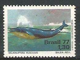 BRESIL. Baleine Bleue (protection De La Nature)  Un T-p Neuf ** Yv.nr 1262 - Walvissen