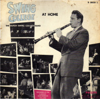 * LP *  DUTCH SWING COLLEGE BAND - SWING COLLEGE AT HOME - Jazz