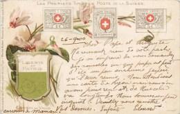 LES PREMIERS TIMBRES POSTE DE LA SUISSE CANTON DE VAUD POSTE P.T.T. 1900 - Stamps (pictures)