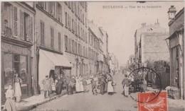 Hauts De Seine : BOULOGNE  :  Rue   De La   Saussière - Boulogne Billancourt