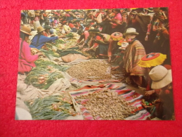 Per� Lima mercado de Ccattca 1983nice stamp