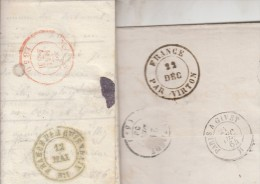"""FRANCE PAR VIRTON / 22 dec (1864) / L de STENAY / France / 2(Pour cette s�rie , tapez """"samu219"""" dans moteur de recherche"""