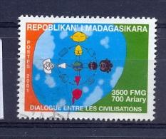 Madagascar 2001, minr 2580, vfu. Cv 2,40 euro