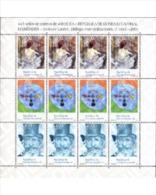 Ref. 165387 * MNH * - EQUATORIAL GUINEA. 2003. VARIOUS ANNIVERSARIES . ANIVERSARIOS VARIOS - Musik