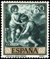 ESPAÑA SEGUNDO CENTENARIO NUEVO Nº 1274 ** 80C VERDE MURILLO - 1931-Aujourd'hui: II. République - ....Juan Carlos I