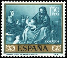 ESPAÑA SEGUNDO CENTENARIO NUEVO Nº 1276 ** 1,5P VERDE AZULADO - 1931-Aujourd'hui: II. République - ....Juan Carlos I