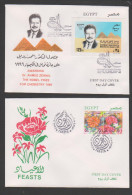 Egypt,2000, 2 FDC , Cover. (4) - Egypt
