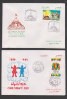 Egypt,2000, 2 FDC , Cover. (5) - Egypt