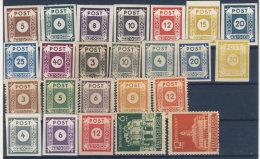Lot Ost Sachsen Michel No. 42 - 65 ** postfrisch