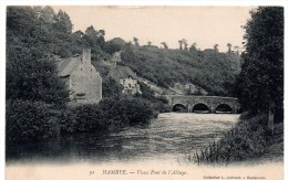 CP, 50, HAMBYE, Vieux Pont De L'Abbaye, Voyagé En 1904 - Andere Gemeenten