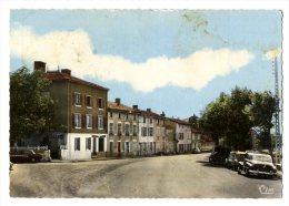 69  SARCEY  -  PLACE DU BON COIN   -  CPM 1950/60 - France