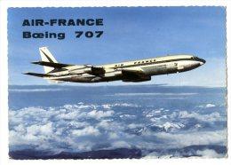 AVION  -  BOEING 707   -    CPM 1950/60 - 1946-....: Moderne