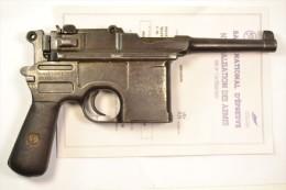 Pistolet neutralis� Saint Etienne C96 type Bolo bolos Allemand WW1 / WW2