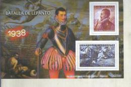 La Guerra Civil Española En Sellos De Correos: Juego 2 Sellos 1938: Batalla De Lepanto - Otras Colecciones